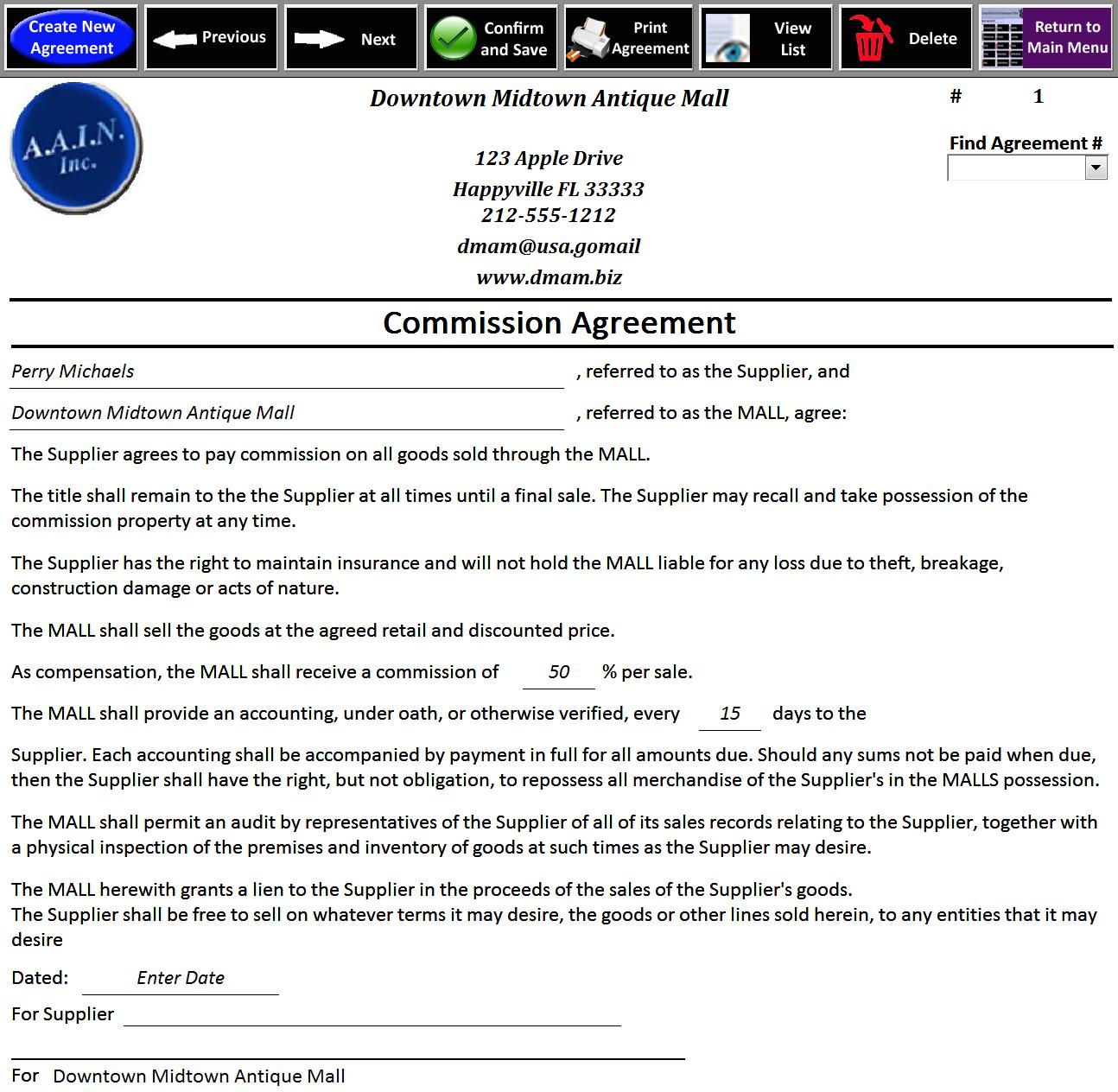 Web Design Sales Commission