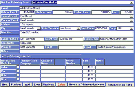 Collectors Inventory Cataloging Management Software